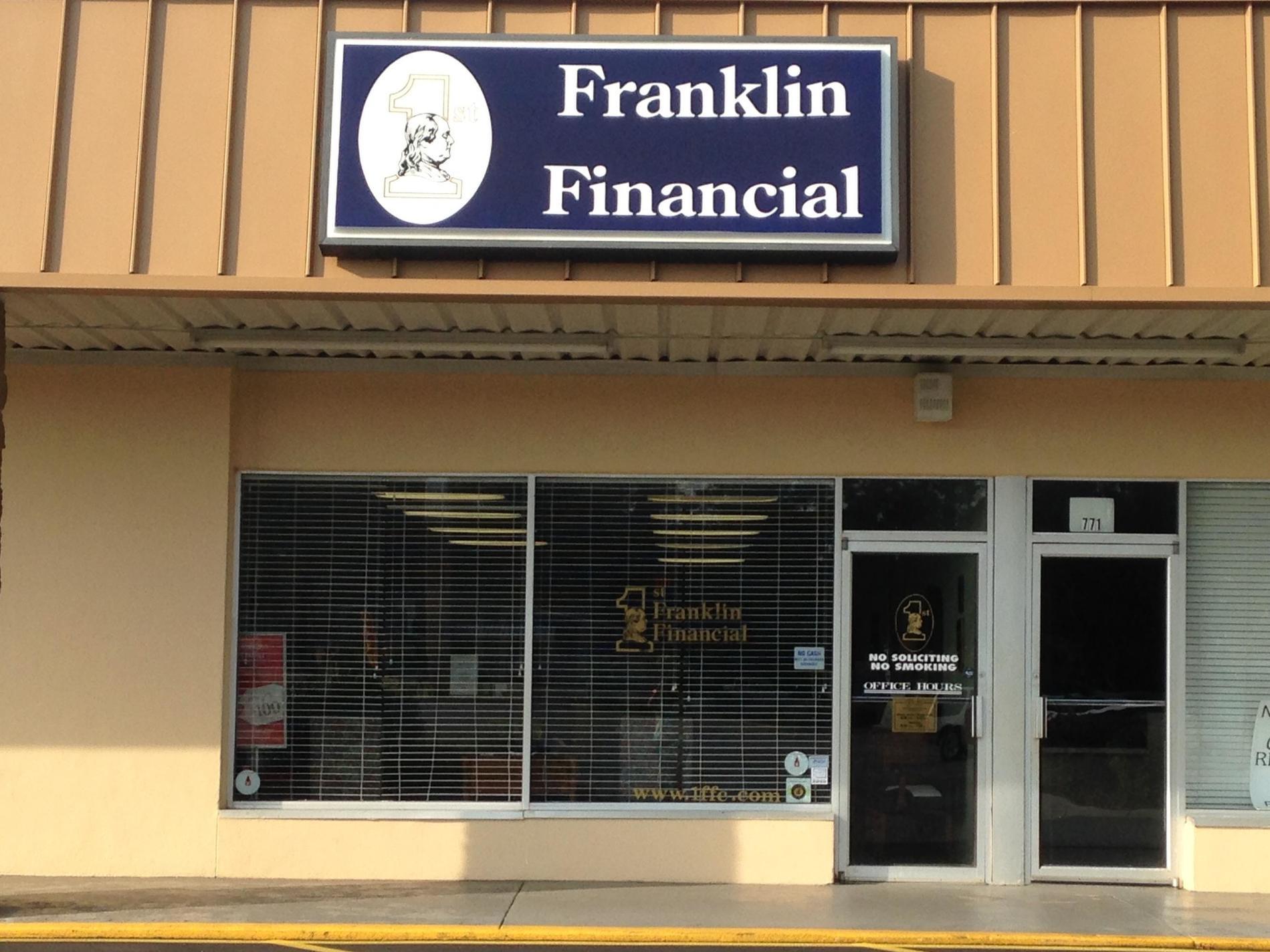 1st Franklin Financial in Dawson, GA 39842 | Personal Installment ...