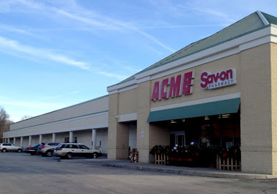 Acme Markets store front picture of store at 1640 Bethlehem Pike in Flourtown PA