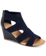 Image of Alfani Women's Step 'N Flex Pennii Dress Wedge Sandals, Created for Macy's