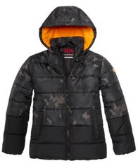 Image of RM 1958 Big Boys Branson Camo-Print Hooded Jacket