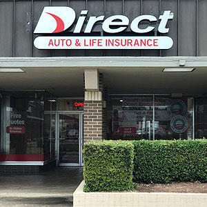 Front of Direct Auto store at 2801 South Olive Street, Pine Bluff