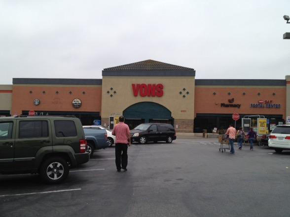 Vons Store Front Picture at 4001 Inglewood Ave in Redondo Beach CA