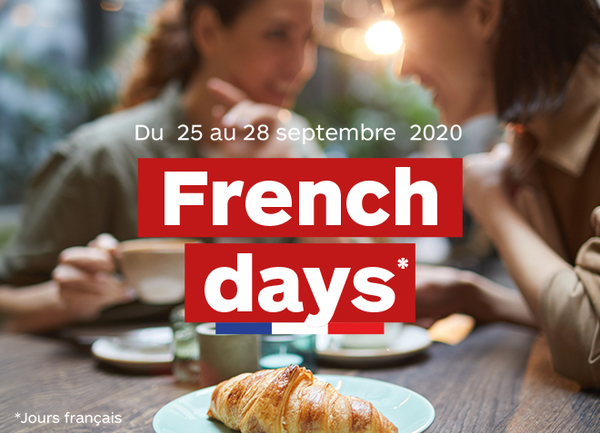 French Days de la rentrée !