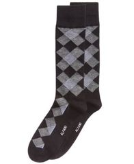 Image of Alfani Men's Diamond Dress Socks, Created for Macy's
