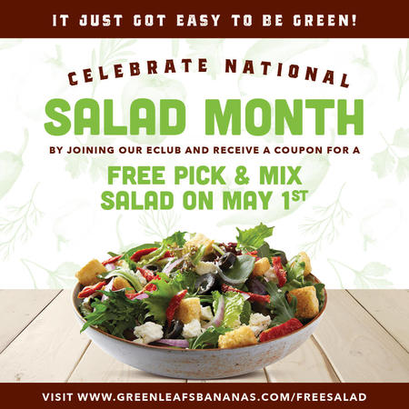 National Salad Month