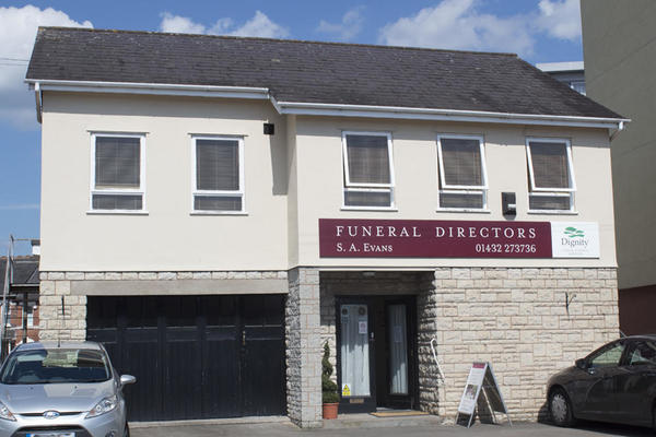 S A Evans Funeral Directors in Hereford.