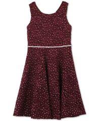Image of Speechless Big Girls Glitter Lace Dress