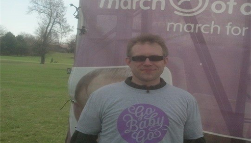 March For Babies 2014! We raised over $700 for the March of Dimes.