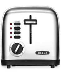 Image of Bella 14307 2-Slice Polished Stainless Steel Toaster