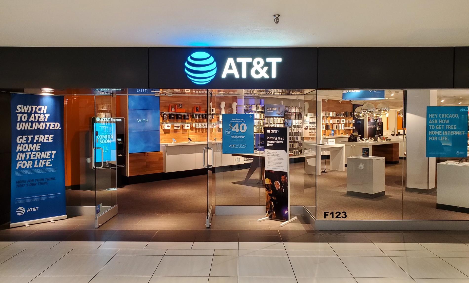 AT&T Store - Woodfield Mall - Schaumburg, IL