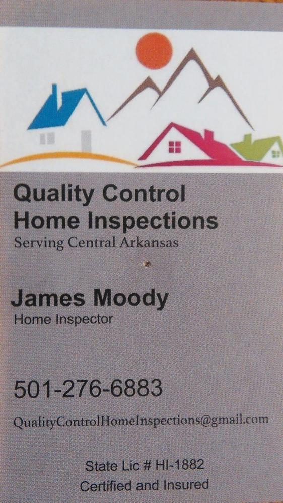 Quality Control Home Inspections - Serving Hot Springs & Hot Springs Village