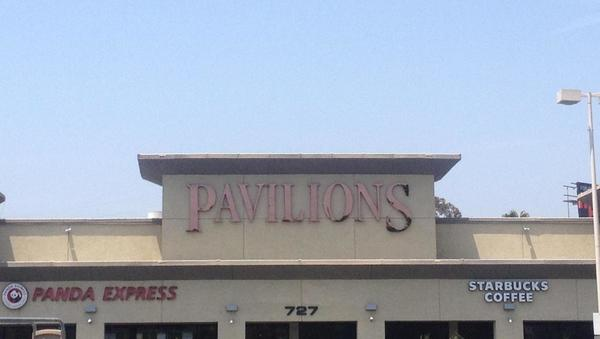 Pavilions store front picture at 727 N Vine St in Los Angeles CA