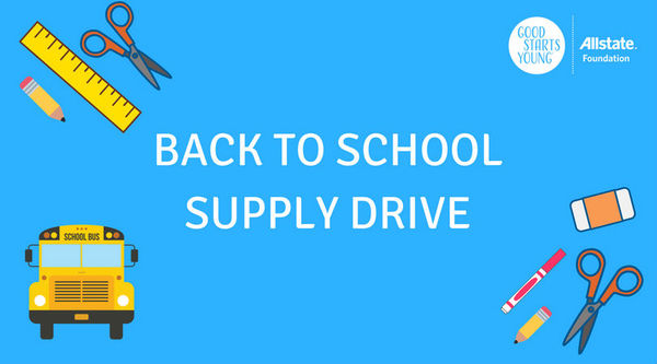 Kari Heatherly - Collecting Supplies for Aikin Elementary School