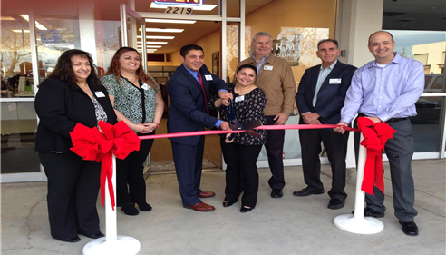 Chamber of Commerce Ribbon Cutting at our new office.