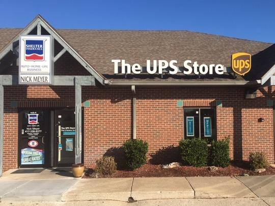 Facade of The UPS Store Branson