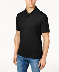 Image of Club Room Classic-Fit Solid Estate Performance UPF 50+ Polo, Created for Macy's