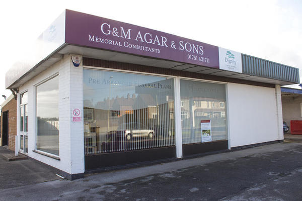 G & M Agar & Sons Funeral Directors in New Road, Kirkbymoorside
