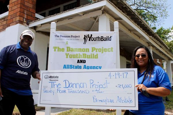 John Saddler - Allstate Foundation Helping Hands Grant Helps The Dannon Project