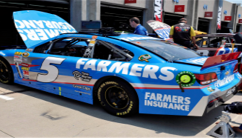 Farmers® Racing and Kasey Kahne