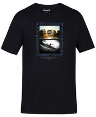 Image of Hurley Mens Solidad Graphic T-Shirt