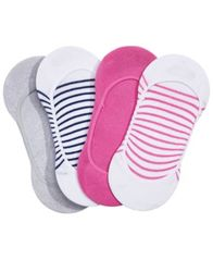 Image of HUE® Women's 4-Pk. Low-Cut Liner Socks