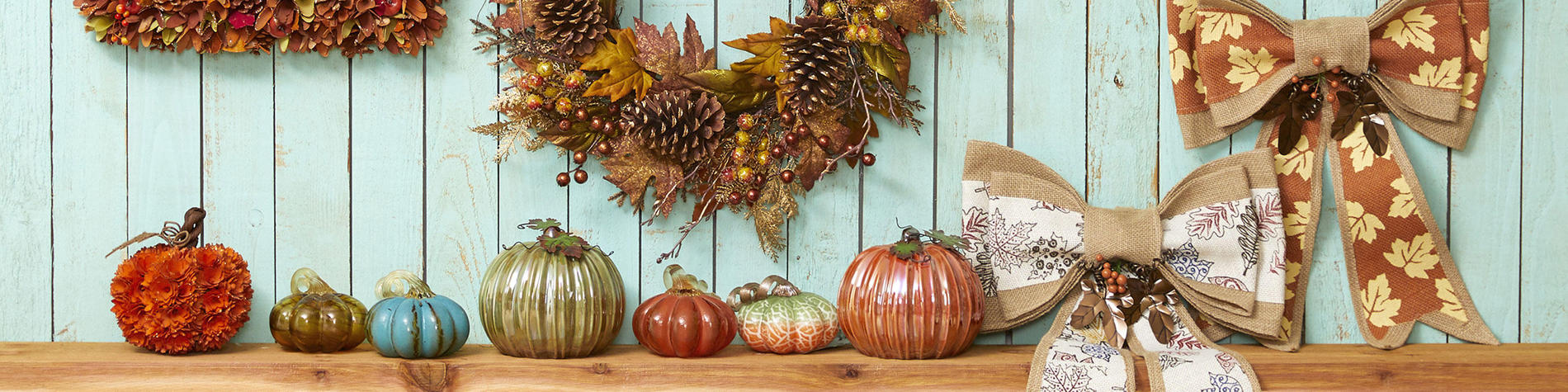 Festive fall decor for your Fall, Halloween and Thanksgiving decorating needs