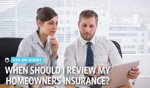 Adam Pisani - When Should I Review My Homeowners Insurance?