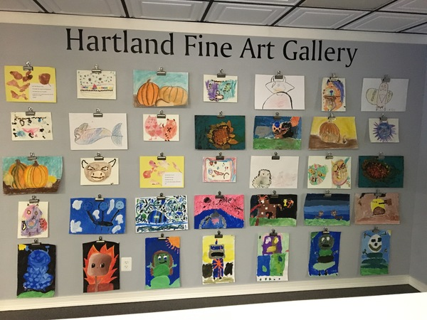 Hartland Elementary and Intermediate School Fine Art Gallery