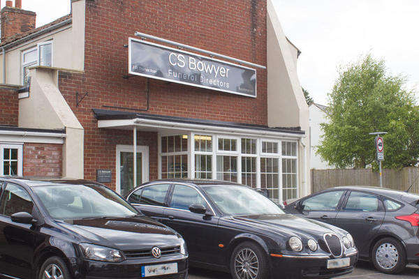 C S Bowyer Funeral Directors in Trowbridge, Wiltshire.