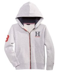 Image of Tommy Hilfiger Graphic-Print Hoodie, Little Boys