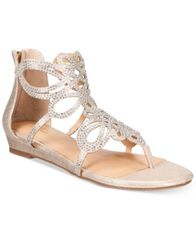Image of Thalia Sodi Laylan Scallop Wedge Sandals, Created for Macy's