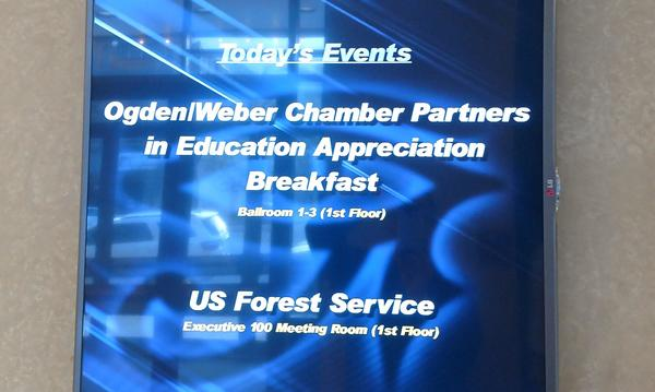Ogden/Chamber Partners in Education Appreciation Breakfast