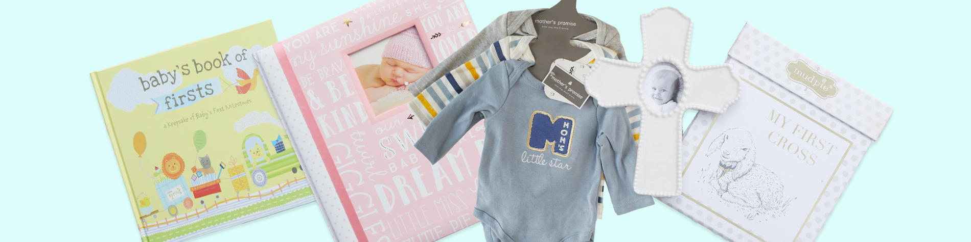 Quality baby gifts, clothing, toys and essentials.