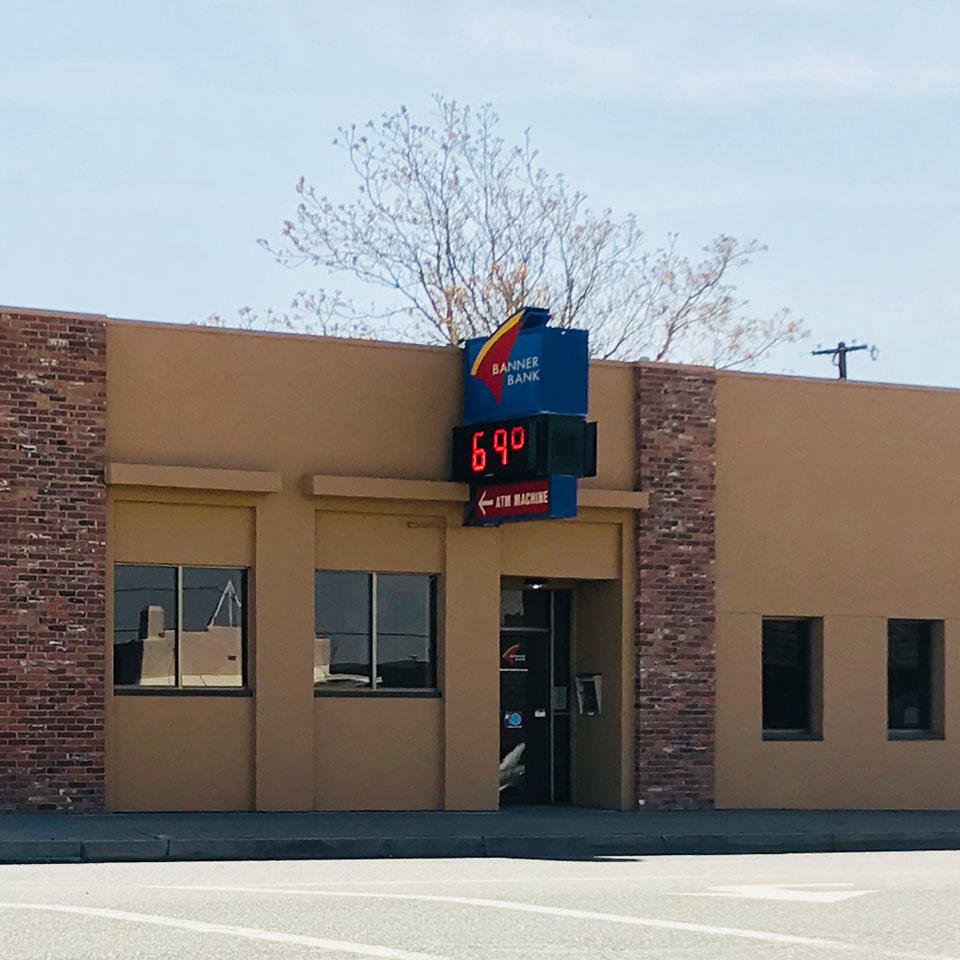Banner Bank branch in Umatilla, Oregon