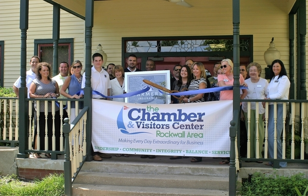 Ribbon Cutting with Rockwall Chamber of Commerce