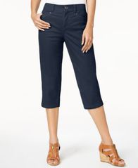Image of Style & Co Split-Hem Capri Pants, Created for Macy's