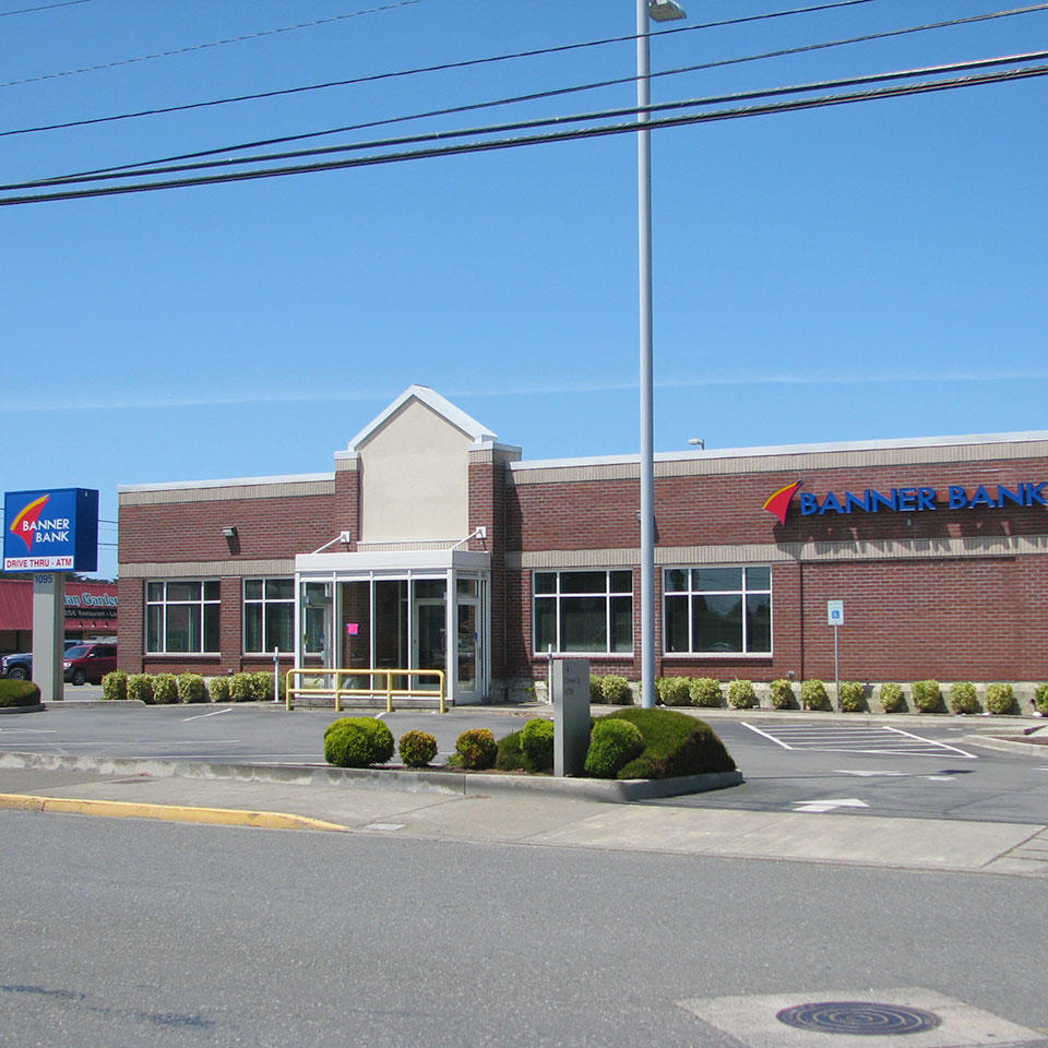 Banner Bank branch in Bandon, Oregon