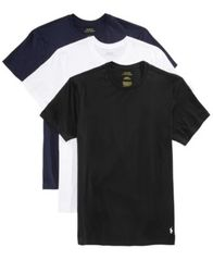 Image of Polo Ralph Lauren Men's 3-Pk. Classic Cotton T-Shirts