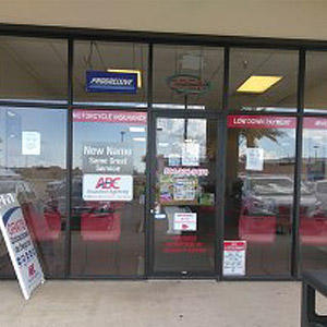 Front of Direct Auto store at 8400 West Judge Perez Drive, Chalmette