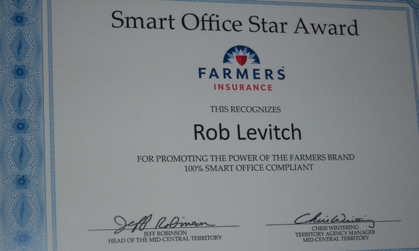 We received a Smart Office Award