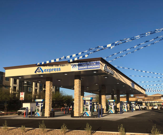 Albertsons Fuel Center Store Front - 8185 Blue Diamond Rd in Las Vegas NV