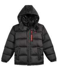 Image of CB Sports Hooded Puffer Coat, Big Boys (8-20)