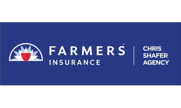 Farmers Insurance Chris Shafer Agency sign.
