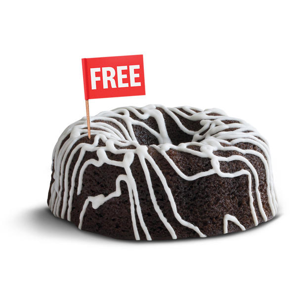 Free Cake with 10pc Meal