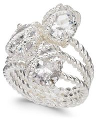 Image of Charter Club Stone Trio Rope Ring, Created for Macy's