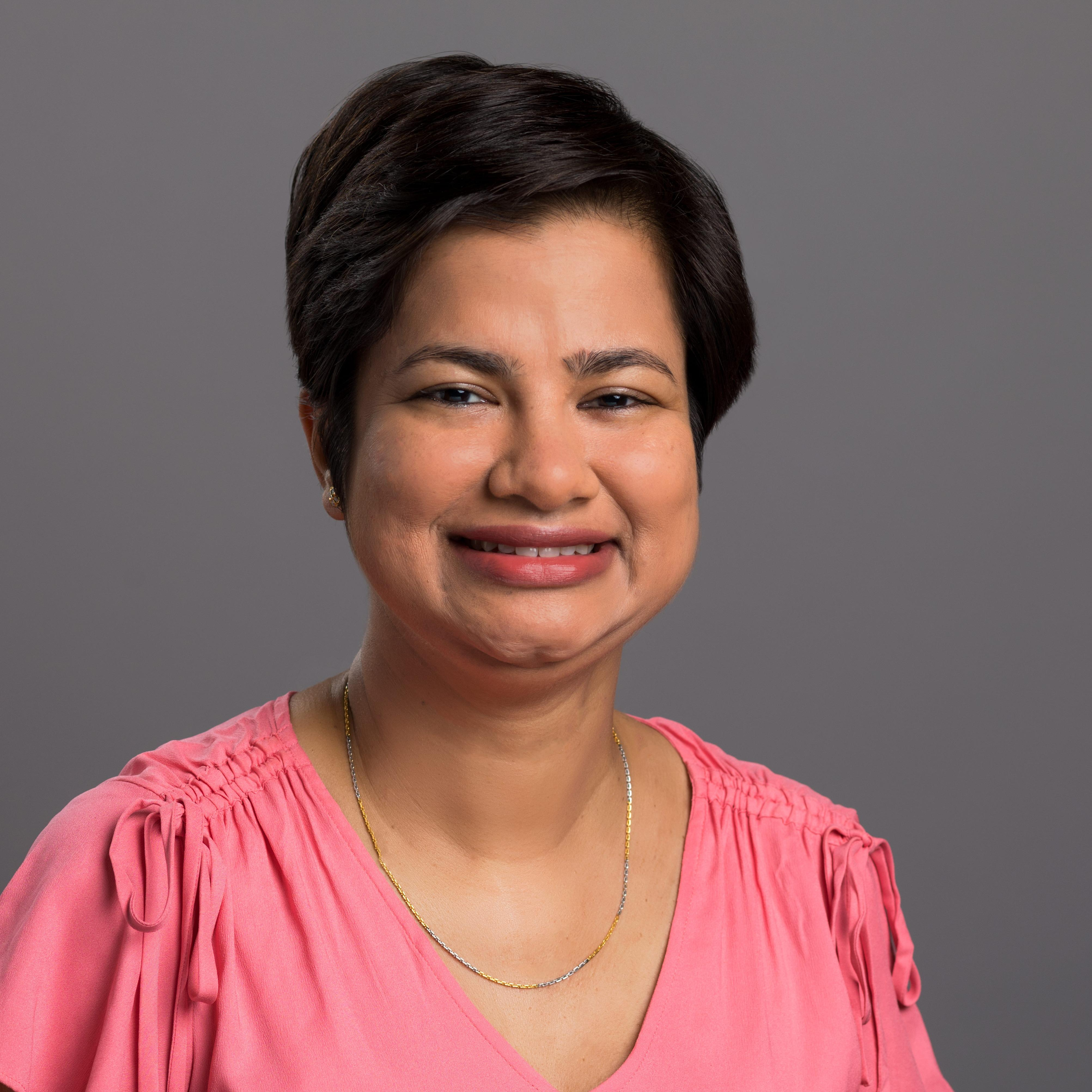 Headshot photo of Bushra Liaqat, DDS, MPH
