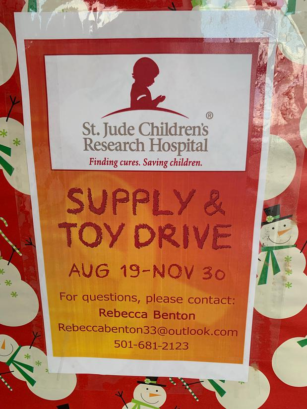 St. Jude Children Research Hospital flyer