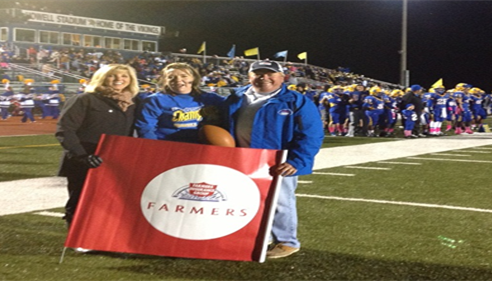 Farmers® Insurance Bull's Eye Contest at Francis Howell High School.