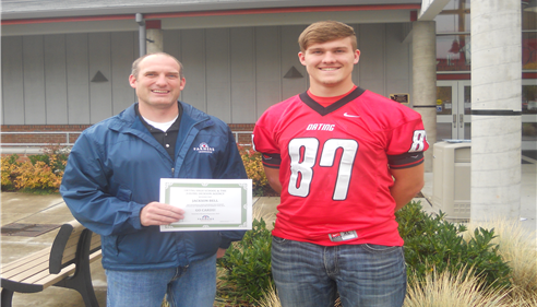 Jackson Bell, Student Athlete of the Week