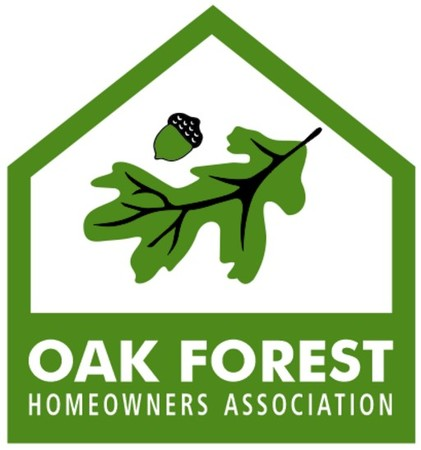 Board Member of the Oak Forest Homeowners Association.